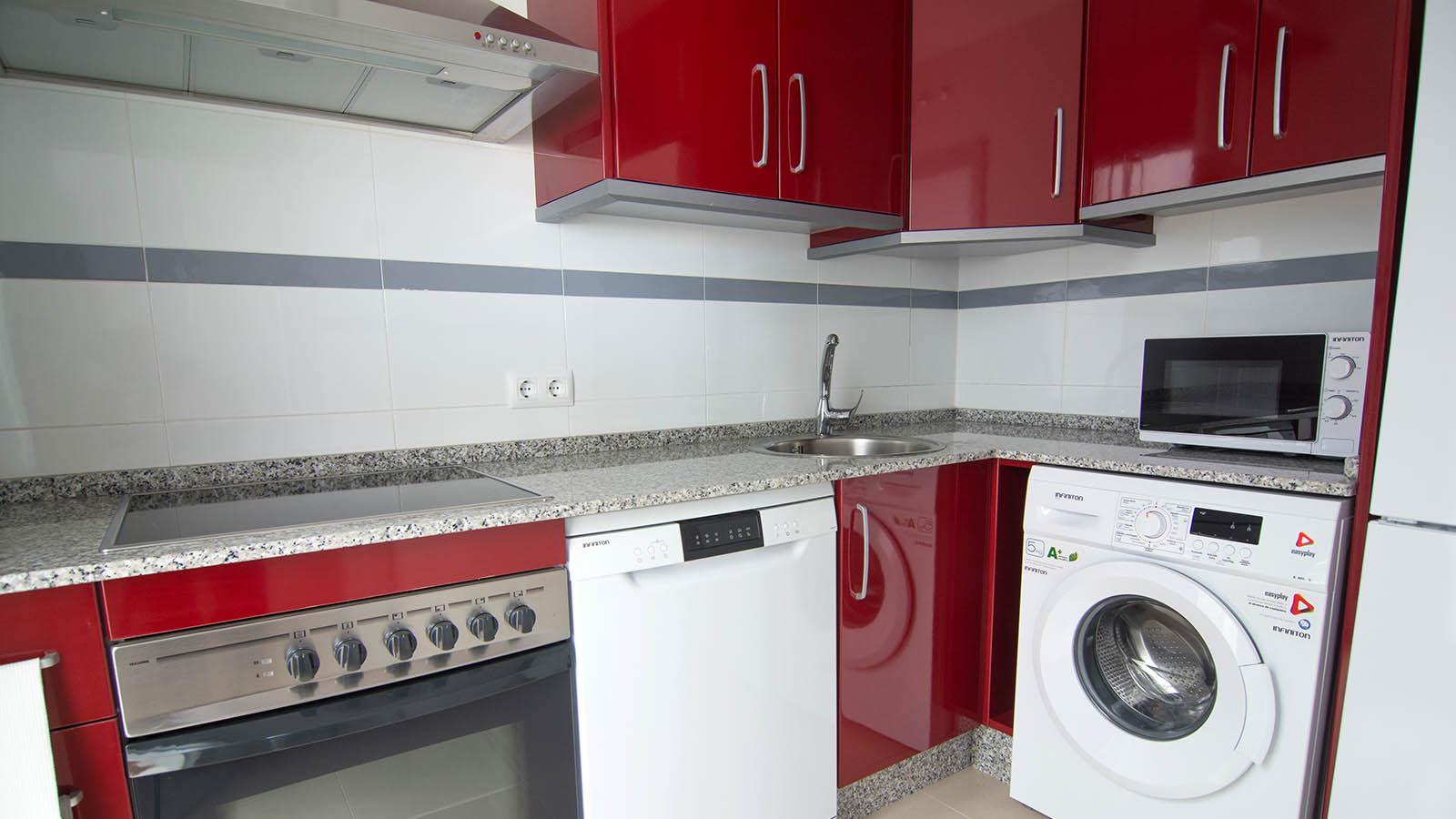 Apartamentos Conil Park 2 habitaciones Cocina