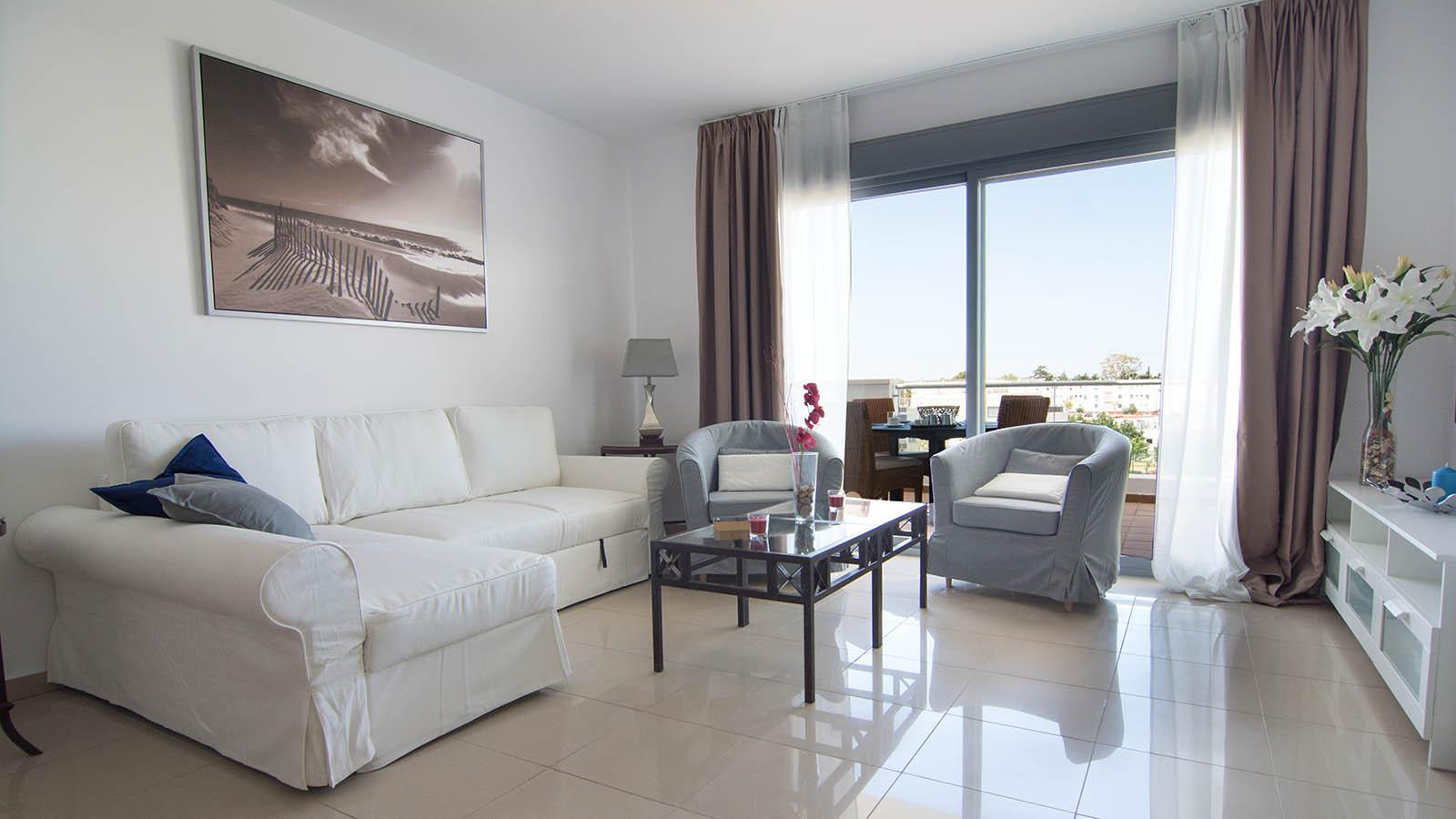 Apartamentos Conil Park 2 habitaciones Salón 1