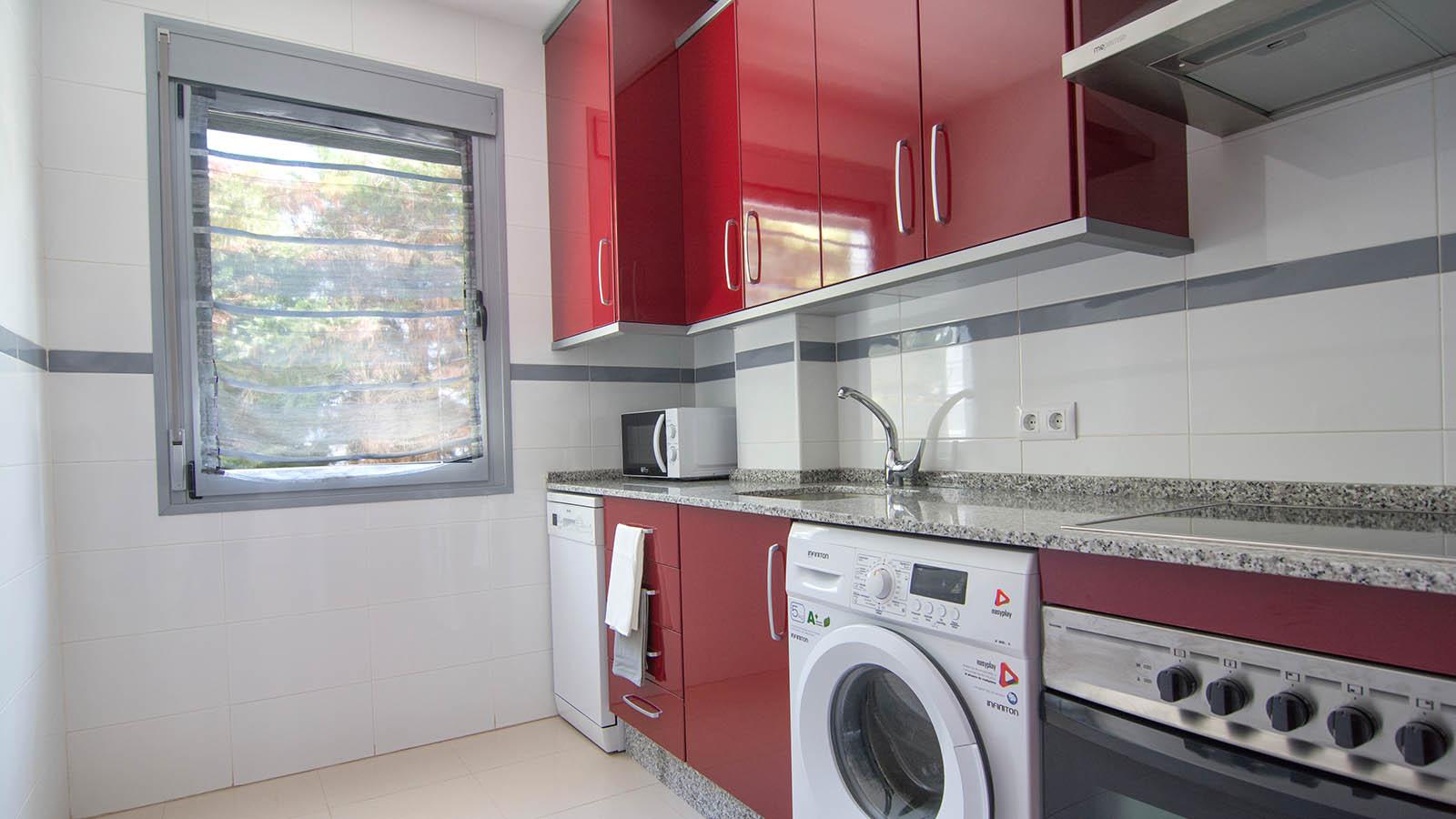 Apartamentos Conil Park 3 habitaciones Cocina